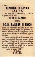 Avviso Fiera 1873